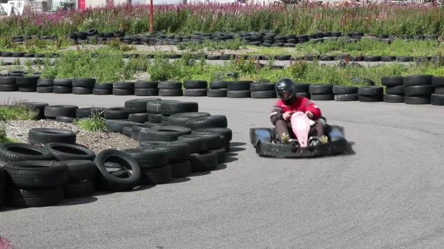 Karting, Motor racing round the track