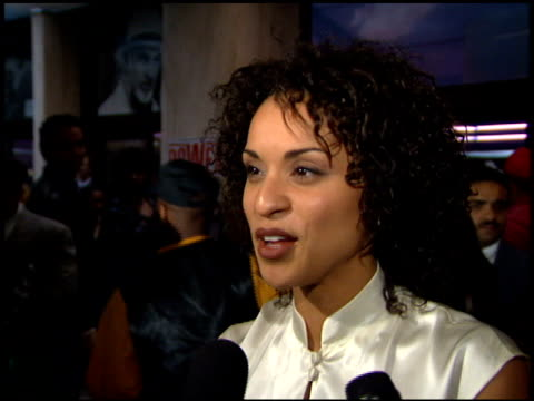 Karyn Parsons at the 'Major Payne' Premiere at Century Plaza in Century City California on March 22 1995