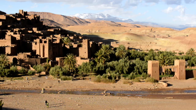 Kasbah of Ait Benhaddou, Morocco, North Africa