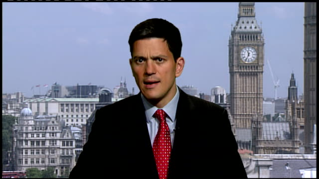 kashkar gah david miliband mp 2way interview from westminster sot one has huge sense of humility for the sacrifices that are made by british troops... - humility stock videos and b-roll footage