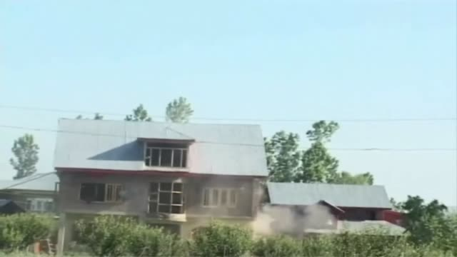 kashmir, india two militants were killed and one indian army personnel injuried in an encounter in tangmarg area of baramulla district. the gunbattle... - rebellion stock videos & royalty-free footage