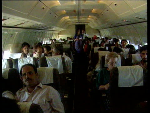 American hostage escapes bC4N Indian Airlines flight Aisle of plane as air hostess walks towards