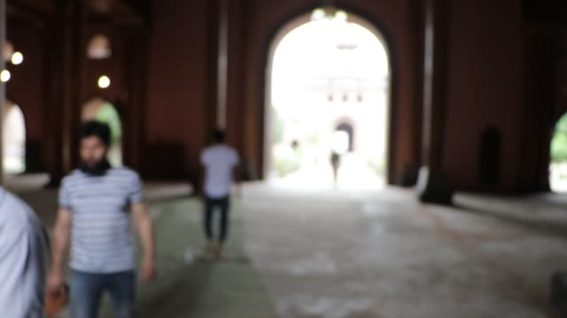 kashmiri muslims offer zuhr prayers as historical jamia masjid reopened after five months of covid lockdown in srinagar jammu and kashmir on august... - pilger stock-videos und b-roll-filmmaterial