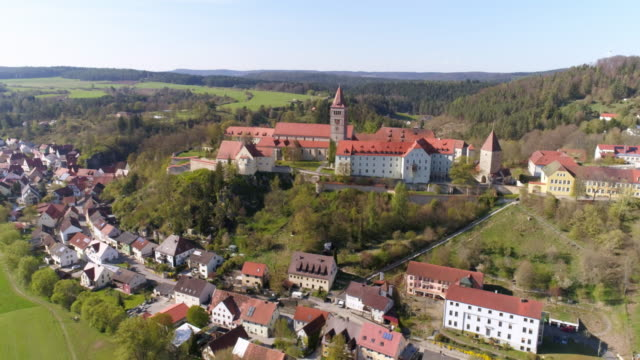 kastl monastery hill in north bavaria - upper palatinate stock videos & royalty-free footage