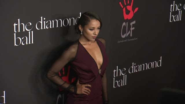 kat graham and nikki reed at rihanna's first annual diamond ball benefitting the clara lionel foundation at the vineyard on december 11 2014 in... - nikki reed stock videos and b-roll footage