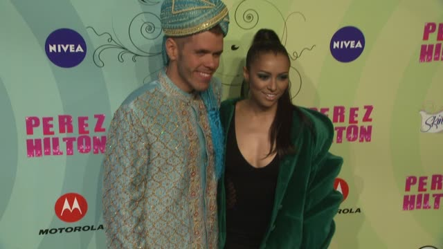kat graham and perez hilton at perez hilton's mad hatter tea party birthday celebration on 3/24/2012 in los angeles ca - mad hatter stock videos and b-roll footage