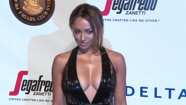 Kat Graham at Friars Club Honors Martin Scorsese With Entertainment Icon Award at Cipriani Wall Street on September 21 2016 in New York City