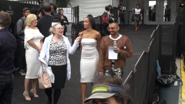 kat graham at lincoln center outside mercedes-benz fashion week spring 2015 on september 09, 2014 in new york city. - mercedes benz fashion week stock videos & royalty-free footage