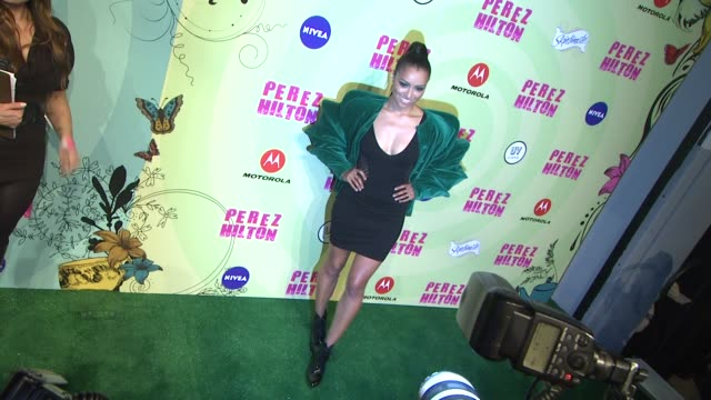 kat graham at perez hilton's mad hatter tea party birthday celebration on 3/24/2012 in los angeles ca - mad hatter stock videos and b-roll footage