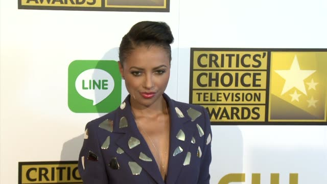 kat graham at the 2014 critics' choice television awards at the beverly hilton hotel on june 19 2014 in beverly hills california - escada stock videos & royalty-free footage
