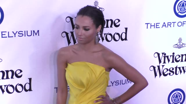 Kat Graham at The Art of Elysium's 9th Annual HEAVEN Gala at 3LABS in Culver City at Celebrity Sightings in Los Angeles on January 09 2016 in Los...