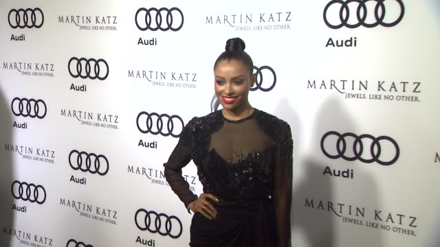 Kat Graham at the Audi And Martin Katz Celebrate The 2012 Golden Globe Awards in West Hollywood CA