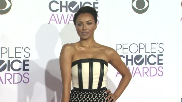Kat Graham at the People's Choice Awards 2016 at Nokia Plaza LA LIVE on January 6 2016 in Los Angeles California