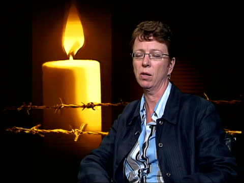 kate allen interviewed sot these battles we thought we had won are back on agenda - amnesty international stock videos & royalty-free footage