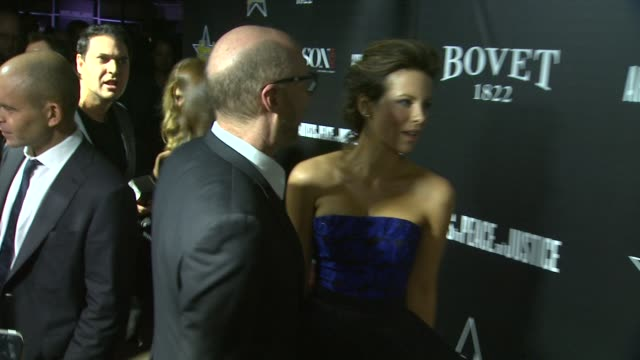 kate beckinsale and paul haggis at the 7th annual hollywood domino bovet 1822 gala benefiting artists for peace and justice at sunset tower hotel on... - paul haggis stock videos and b-roll footage