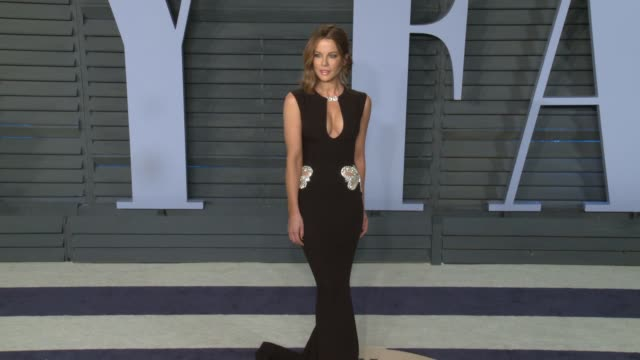 Kate Beckinsale at 2018 Vanity Fair Oscar Party on March 04 2018 in Beverly Hills California
