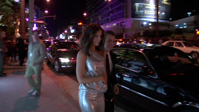 kate beckinsale at the 2010 vanity fair oscar party hosted by graydon carter at west hollywood ca. - vanity fair oscar party stock videos & royalty-free footage