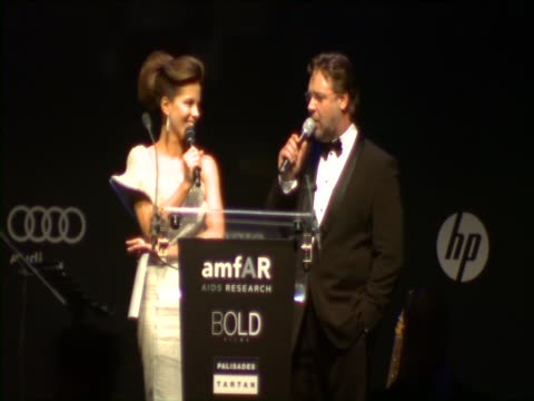 Kate Beckinsale Gerard Butler Chris Tucker Benicio del Toro on the event at the amfAR Cinema Against AIDS Gala at Antibes