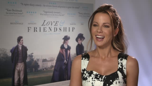 INTERVIEW Kate Beckinsale on film reviews comedy and her daughter at 'Love Friendship' Junket