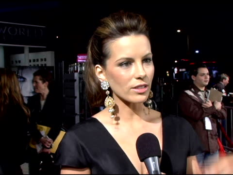 kate beckinsale on what selene fans have to look forward to in the sequel and on the effects playing such an aggressive role had on her personality... - シネラマドーム点の映像素材/bロール