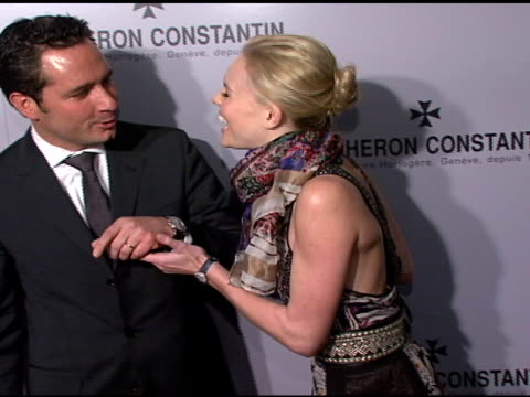 Kate Bosworth and Julien Tornare at the Vacheron Constantin Watch Launch Honoring Clive Davis at XChange in New York New York on November 13 2007