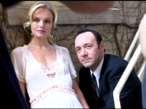 Kate Bosworth and Kevin Spacey at the 2004 Toronto International Film Festival 'Beyond The Sea' Portraits at Intercontinental in Toronto Ontario on...