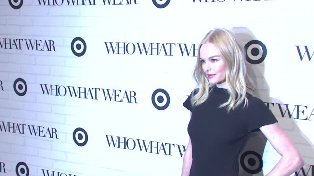 kate bosworth at target who what wear launch event at art beam on january 27 2016 in new york city - kate bosworth stock-videos und b-roll-filmmaterial