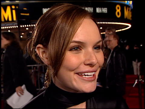 Kate Bosworth at the '8 Mile' Premiere on November 6 2002