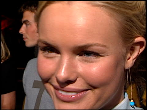 Kate Bosworth at the 'Blue Crush' Premiere at Universal Amphitheatre in Universal City California on August 8 2002