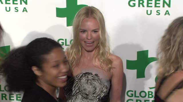 kate bosworth at the global green usa's 6th annual preoscar party benefiting green schools at los angeles ca - kate bosworth stock-videos und b-roll-filmmaterial