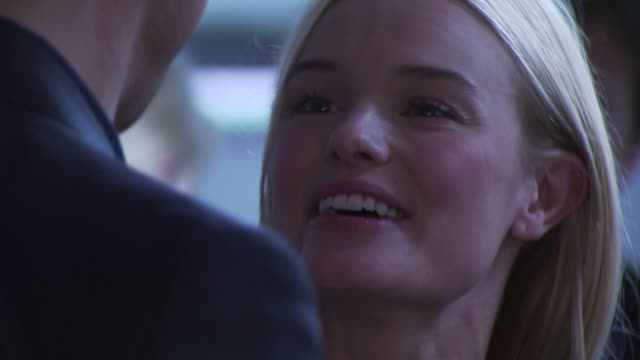 kate bosworth at the montblanc charity cocktail hosted by the weinstein company to benefit unicef at soho house at west hollywood ca - kate bosworth stock-videos und b-roll-filmmaterial