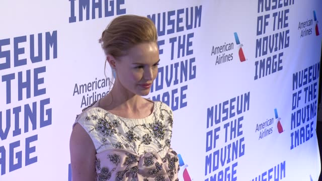 kate bosworth at the museum of the moving image honors kevin spacey on april 09 2014 in new york city - kate bosworth stock-videos und b-roll-filmmaterial