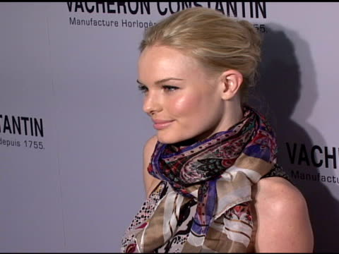 Kate Bosworth at the Vacheron Constantin Watch Launch Honoring Clive Davis at XChange in New York New York on November 13 2007