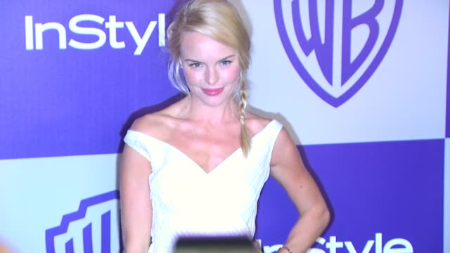 vídeos y material grabado en eventos de stock de kate bosworth at the warner bros and instyle golden globe afterparty at beverly hills ca - warner bros