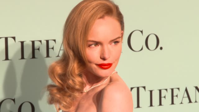 kate bosworth at tiffany debuts the 2014 blue book at the guggenheim museum in new york at guggenheim museum on april 10 2014 in new york city - kate bosworth stock-videos und b-roll-filmmaterial