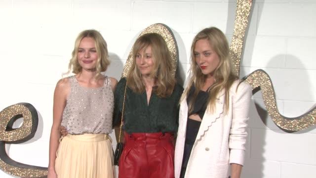 Kate Bosworth Hannah MacGibbon Chloe Sevigny at the Chloe Los Angeles Boutique Opening Celebration at Los Angeles CA
