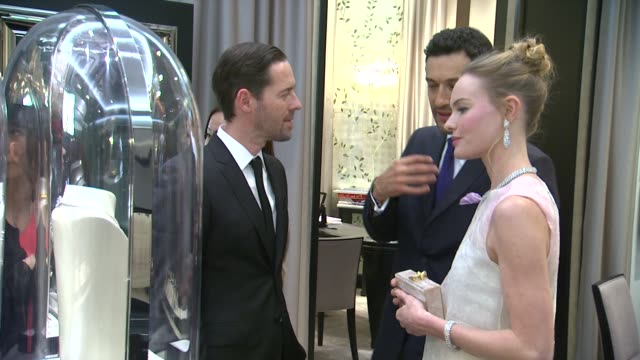Kate Bosworth Michael Polish Alain Bernard at Van Cleef Arpels Celebrates The ReDesign Of The Maison's South Coast Plaza Boutique in Orange County CA