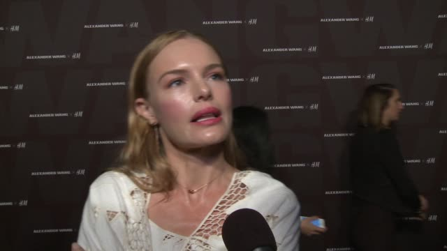 INTERVIEW Kate Bosworth on celebrating Coachella with H M and Alexander Wang on what she loves about H M on her outfit on her Coachella essentials...