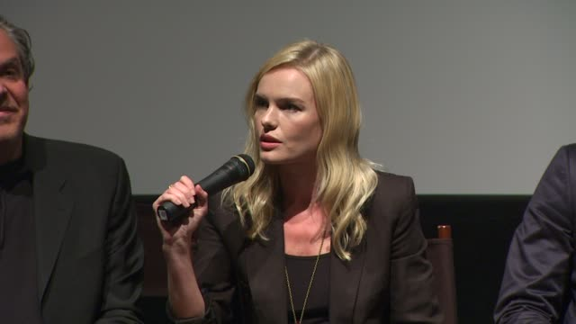 kate bosworth on her character at the 'the warrior's way' junket panel at los angeles ca - kate bosworth stock-videos und b-roll-filmmaterial