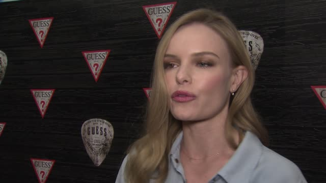 INTERVIEW Kate Bosworth on still being in the honeymoon phase on always feeling like she was married to her new husband On loving being in New York...
