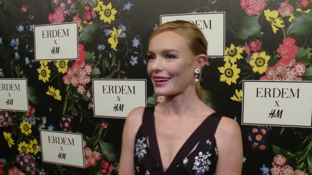 INTERVIEW Kate Bosworth on why she wanted to support the Erderm x HM collaboration what she's expecting from the collection talks about her favorite...