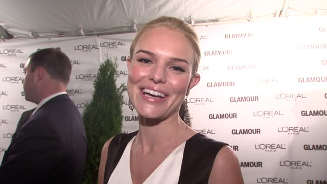 Kate Bosworth talks about presenting to Maureen Chiquet tonight She talks about what makes her such a special woman She talks about her definition of...
