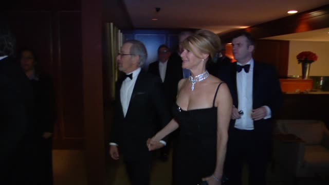 Kate Capshaw and Steven Spielberg at The 2013 Vanity Fair Oscar Party Hosted By Graydon Carter Inside Party Footage Kate Capshaw and Steven Spielberg...