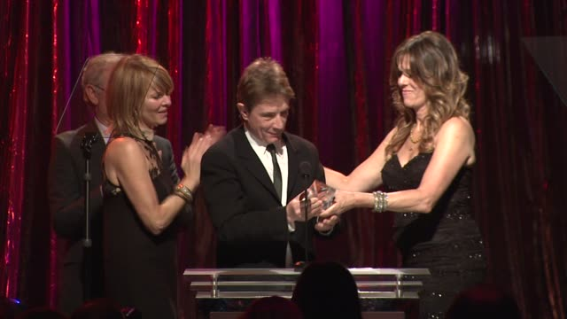 kate capshaw martin short and rita wilson at the 14th annual unforgettable evening benefiting the entertainment industry foundation's women's cancer... - martin short stock videos & royalty-free footage