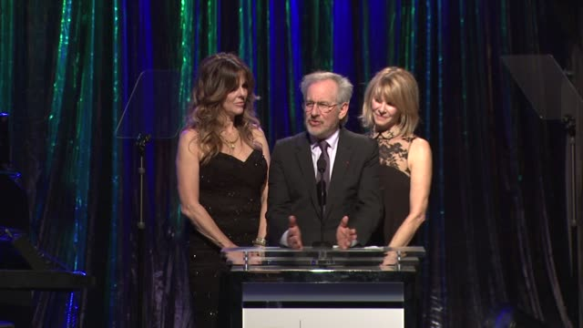 Kate Capshaw Steven Spielberg and Rita Wilson at the 14th Annual Unforgettable Evening Benefiting The Entertainment Industry Foundation's Women's...