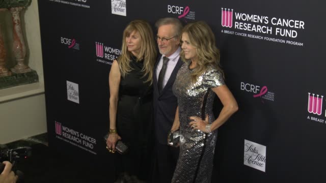 Kate Capshaw Steven Spielberg and Rita Wilson at the WCRF's 'An Unforgettable Evening' Presented by Saks Fifth Avenue at the Beverly Wilshire Four...