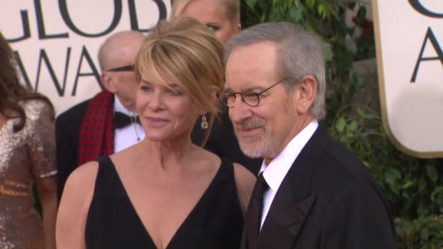 Kate Capshaw Steven Spielberg at 70th Annual Golden Globe Awards Arrivals on 1/13/13 in Los Angeles CA