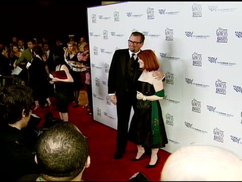Kate Flannery and guest at the 2008 Genesis Awards at the Beverly Hilton in Beverly Hills California on March 30 2008