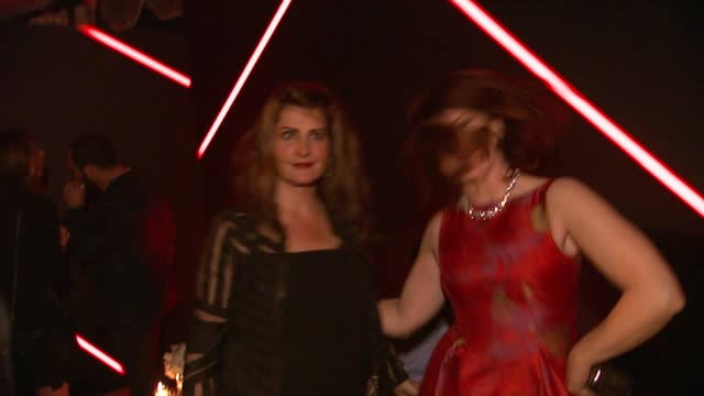 kate flannery and nia vardalos at the audi celebrates golden globes weekend 2014 at cecconi's restaurant on in los angeles california - nia vardalos stock videos and b-roll footage
