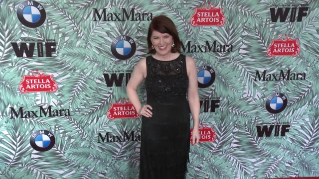 kate flannery at 10th annual women in film pre-oscar cocktail party presented by max mara and bmw at nightingale plaza on february 24, 2017 in los... - nightingale stock videos & royalty-free footage